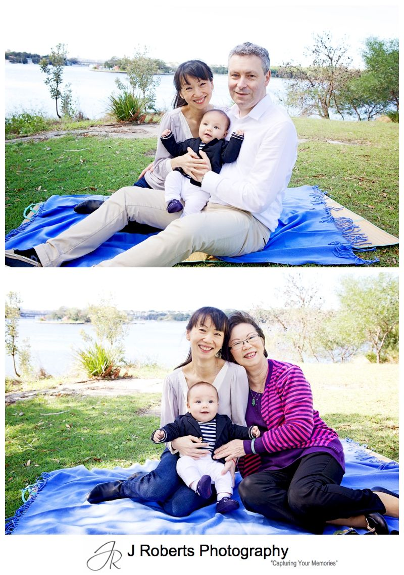 Family Portrait Photography Sydney Multi Generation Portraits Rod Park Russell Lea Sydney